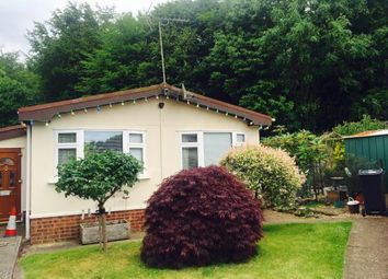 Thumbnail 2 bed mobile/park home for sale in Longbeech Park, Canterbury Road, Charing, Ashford
