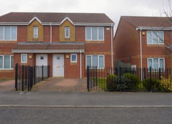 Thumbnail 3 bed semi-detached house for sale in Dunblane Crescent, West Denton, Newcastle Upon Tyne