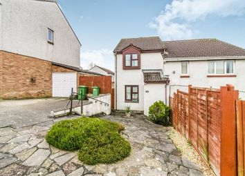 Thumbnail 2 bed semi-detached house for sale in Staddiscombe, Plymstock, Devon