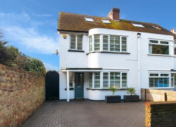 Thumbnail 4 bed semi-detached house for sale in Reading Street Road, Broadstairs