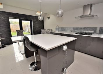 Thumbnail 3 bed terraced house to rent in Lowther Road, Dunstable