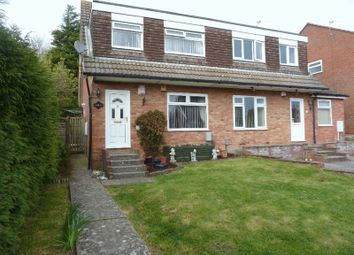 Thumbnail 3 bed semi-detached house for sale in Goodwick Close, Barry