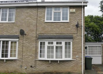 Thumbnail 2 bed semi-detached house for sale in Dorchester Court, New Hartley, Whitley Bay