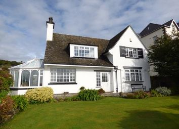Thumbnail 4 bed detached house for sale in Portmadoc Road, Criccieth, Gwynedd