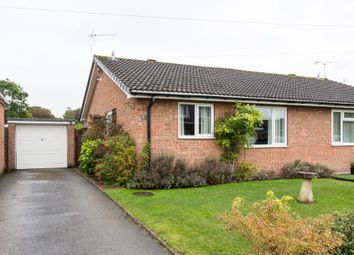 Thumbnail 2 bed semi-detached bungalow for sale in Pasture Close, Strensall, York