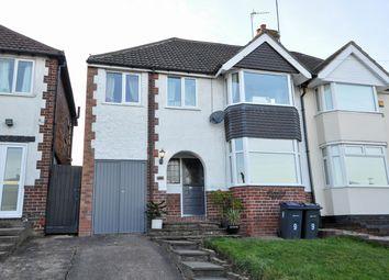 Thumbnail 4 bed semi-detached house for sale in Dockar Road, Northfield, Birmingham