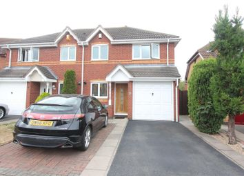 Thumbnail 3 bed semi-detached house for sale in Aldin Way, Hinckley