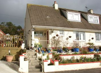 Thumbnail 2 bed semi-detached house for sale in Dounan Road, Dunragit