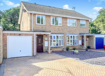 Thumbnail 3 bed semi-detached house for sale in Weatherthorn, Orton Malborne, Peterborough