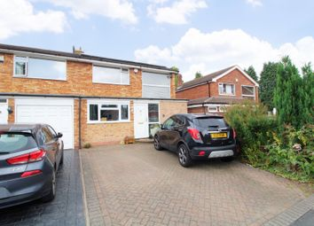 Thumbnail 3 bed semi-detached house for sale in Cambria Close, Shirley, Solihull