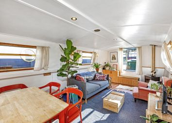 Thumbnail 1 bed houseboat for sale in Malthouse Wharf, Catherine Wheel Road, Brentford