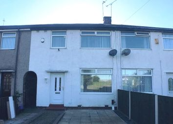 Thumbnail 3 bed terraced house to rent in Norwood Road, Wallasey, Wirral
