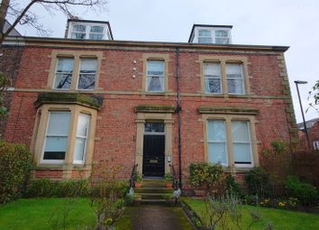 Thumbnail 3 bed flat for sale in Tankerville Terrace, Jesmond, Newcastle Upon Tyne