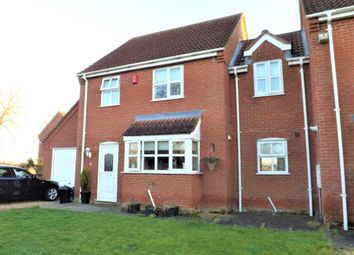Thumbnail 3 bedroom end terrace house to rent in Church Gardens, Lutton, Spalding
