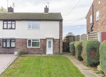 Thumbnail 2 bed semi-detached house for sale in Broom Avenue, Pilsley, Chesterfield