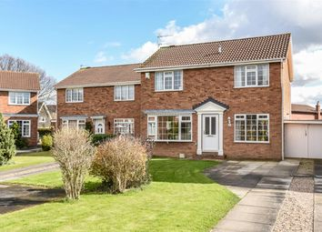 Thumbnail 4 bedroom detached house for sale in Eden Close, York