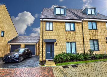 4 bed semi-detached house for sale in Castle Hill Drive, Ebbsfleet Valley, Swanscombe DA10