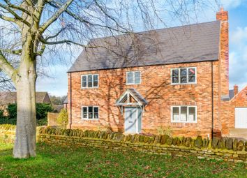 Thumbnail 4 bed detached house for sale in Holcot Road, Brixworth, Northampton