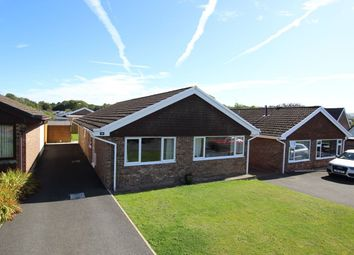 Thumbnail 3 bed detached bungalow for sale in Pendre Gardens, Brecon