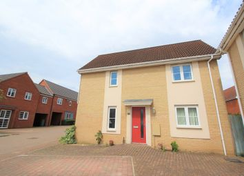 Thumbnail 3 bed semi-detached house for sale in Solario Road, Costessey, Norwich