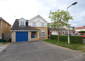Thumbnail 3 bedroom detached house for sale in Triumph Close, Woodley, Reading