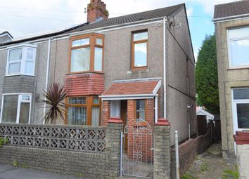 Thumbnail 2 bed semi-detached house for sale in Middle Road, Gendros, Swansea
