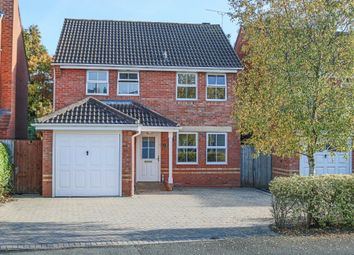 Thumbnail 3 bed detached house for sale in Defford Close, Webheath, Redditch