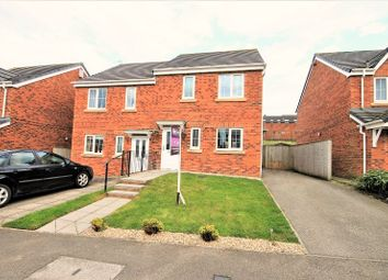 Thumbnail 3 bed semi-detached house for sale in Dorset Crescent, Consett