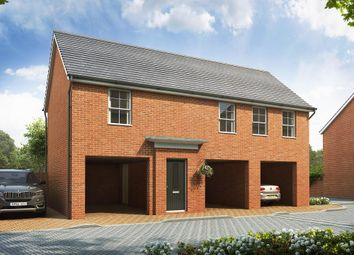 "Thumbnail 1 bed flat for sale in ""Aylsham"" at Broughton Crossing, Broughton, Aylesbury"
