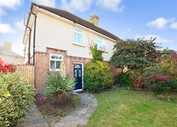 Thumbnail 3 bed semi-detached house for sale in Costead Manor Road, Brentwood, Essex