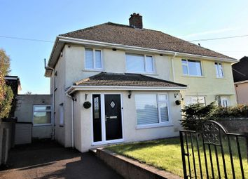 Thumbnail 3 bed semi-detached house for sale in Heol Cae Gwyn, St Brides Major, Bridgend