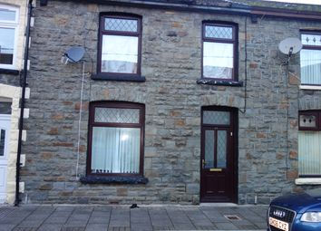 Thumbnail 3 bed terraced house to rent in Volunteer Street, Pentre