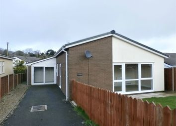 Thumbnail 3 bed detached bungalow for sale in 3 Pine Grove, Llanarth, Ceredigion