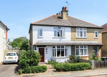 Thumbnail 2 bed semi-detached house for sale in Wynn Road, Tankerton, Whitstable