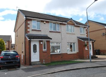 Thumbnail 3 bed semi-detached house for sale in Fernlea Grove, Carronshore, Falkirk