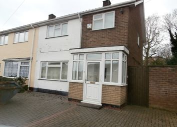 Thumbnail 3 bed semi-detached house for sale in White Farm Road, Four Oaks, Sutton Coldfield