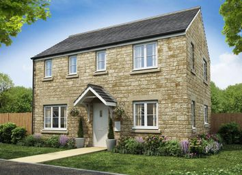 "Thumbnail 3 bed detached house for sale in ""The Clayton Corner"" at Restrop Road, Purton, Swindon"