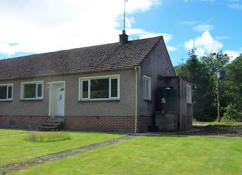 Thumbnail 3 bed semi-detached bungalow to rent in Balfron Station, Glasgow