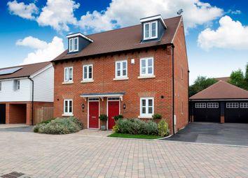 Thumbnail 3 bed town house for sale in Wells Croft, Broadbridge Heath, Horsham