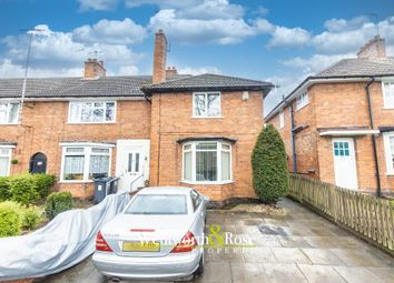Thumbnail 2 bed end terrace house for sale in Ashbrook Road, King's Heath, Birmingham