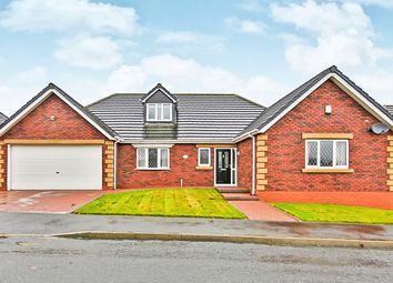 Thumbnail 4 bed bungalow for sale in Edwards Walk, Burnhope, Durham