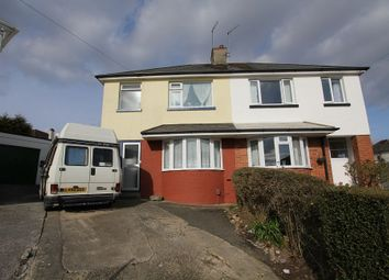 Thumbnail 4 bedroom semi-detached house for sale in Netley Road, Newton Abbot