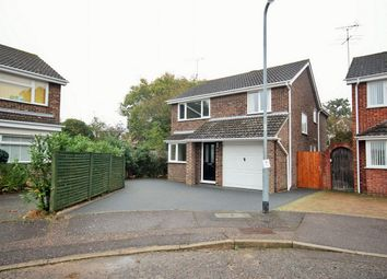 Thumbnail 4 bed detached house for sale in Byron Avenue, Poets Corner, Colchester, Essex