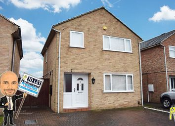 Thumbnail 3 bed detached house to rent in Hollowood Avenue, Littleover, Derby
