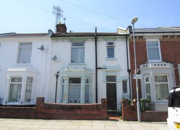 Thumbnail 4 bedroom terraced house for sale in Alverstone Road, Southsea
