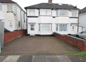 Thumbnail 3 bed semi-detached house for sale in Sandringham Road, Great Barr