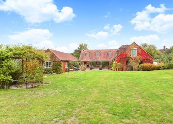 Thumbnail 4 bed detached house to rent in Manor Road, Sherborne St. John, Basingstoke