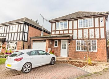 Thumbnail 4 bedroom detached house for sale in Melksham Close, Lower Earley, Reading