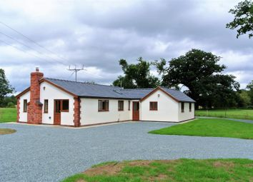 Thumbnail 4 bed detached bungalow to rent in Trederwen Lane, Arddleen, Llanymynech