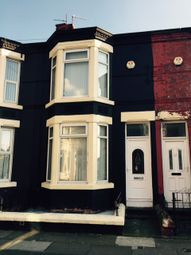 Thumbnail 3 bedroom terraced house to rent in Hahnemann Road, Liverpool